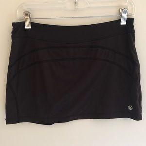 Lija Black Tennis/Golf Skort